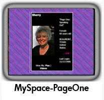 MySpace PageOne Politics