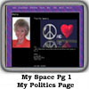MySpace PageOne Politics