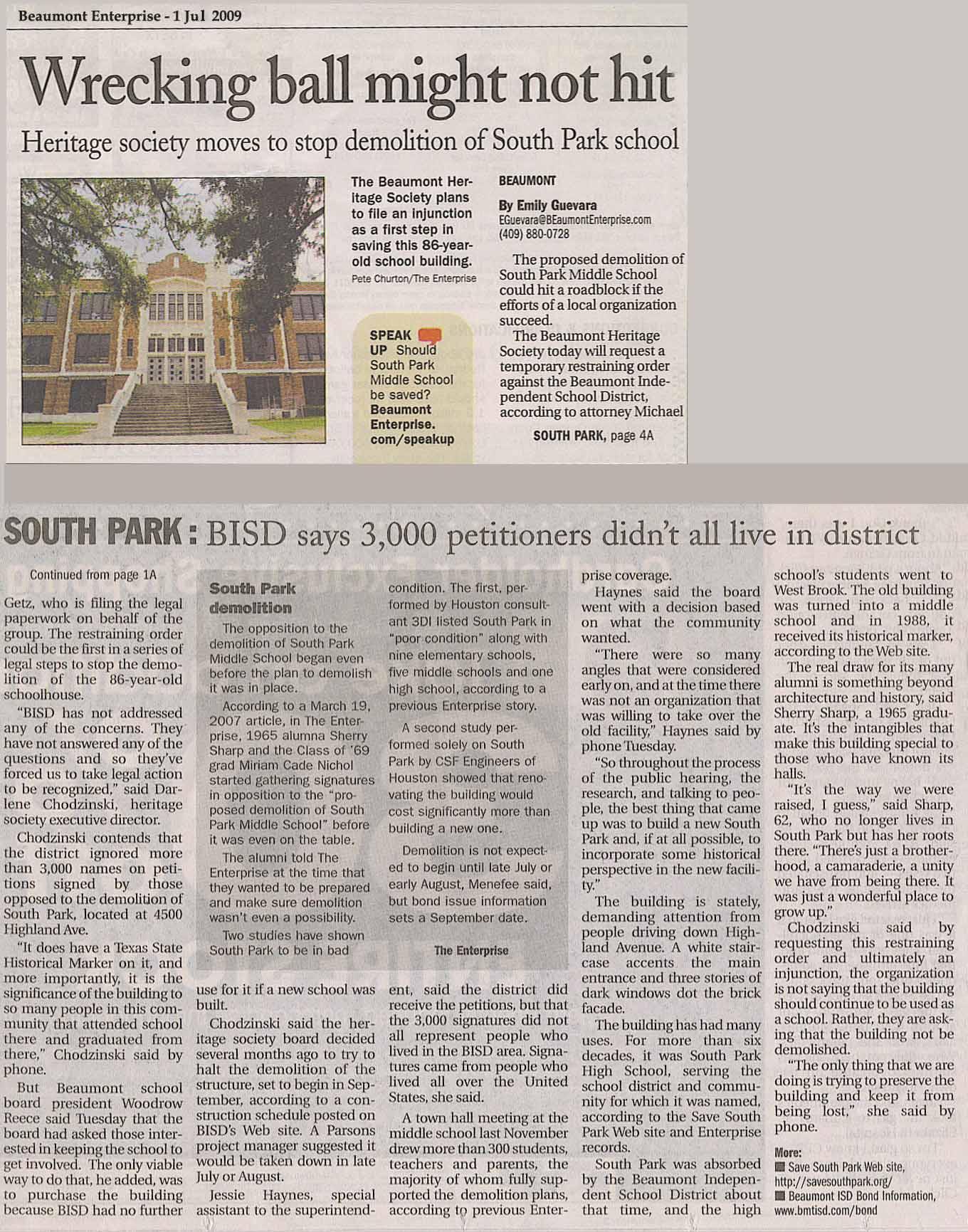 Southeast Texas Political Review http://sherrysharp.com/southpark/demo