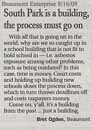 Letter to the Editor - by Bret Ogden 8/16/09